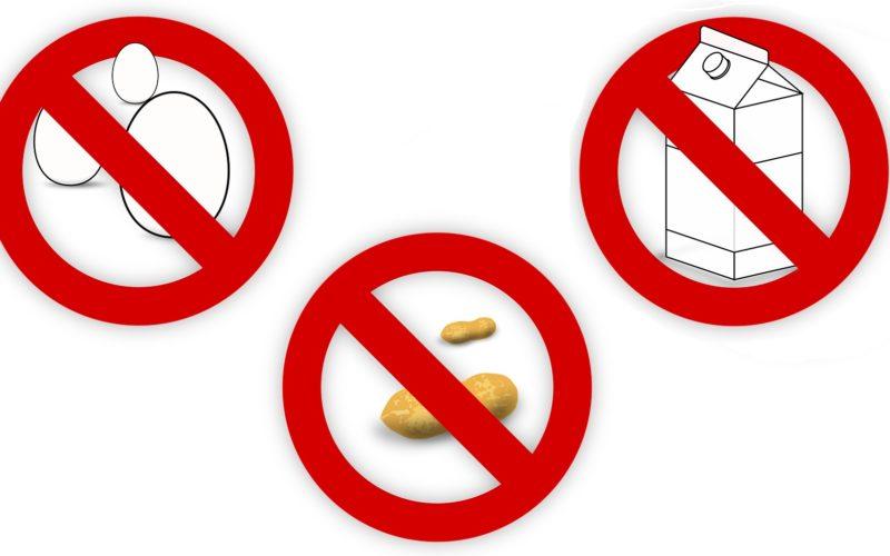alergia pokarmowa symbole