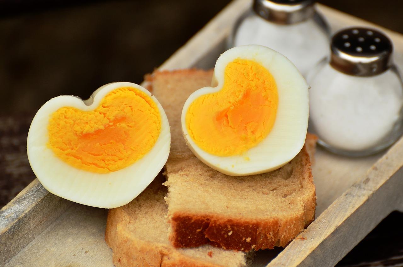 Jajka gotowane.