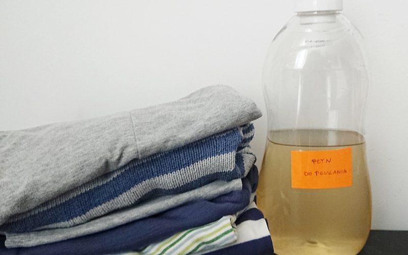 Ekologiczny płyn do płukania tkanin