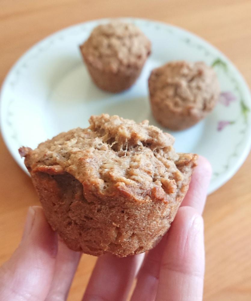 Muffiny bananowo-owsiane