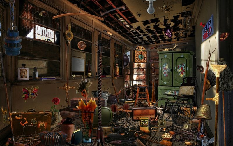 Odgracić mieszkanie. Chaotyczny pokój