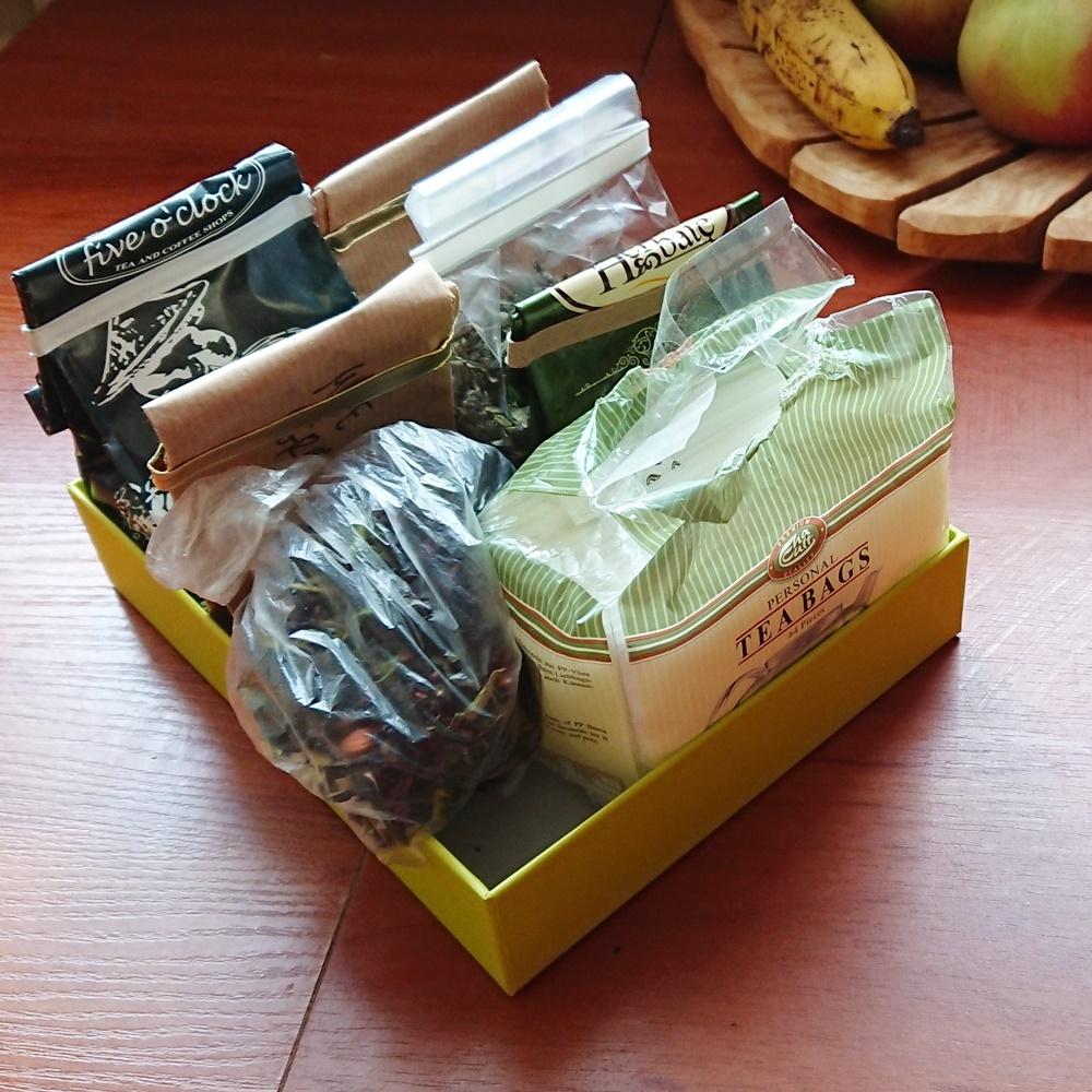 Pudełko na herbatę. Czwarty tydzień wyzwania #dwaR