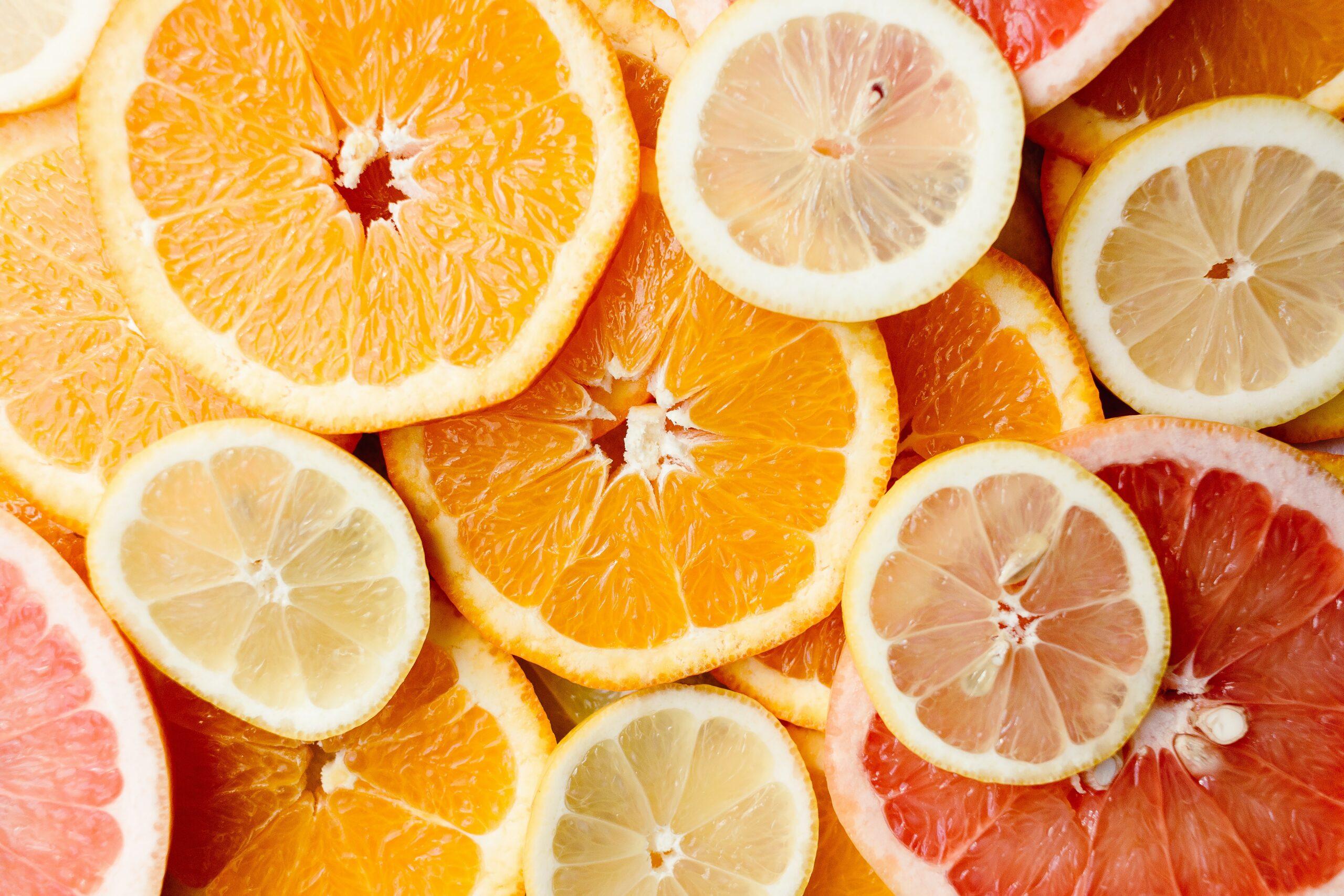 alergia pokarmowa, pomarańcze